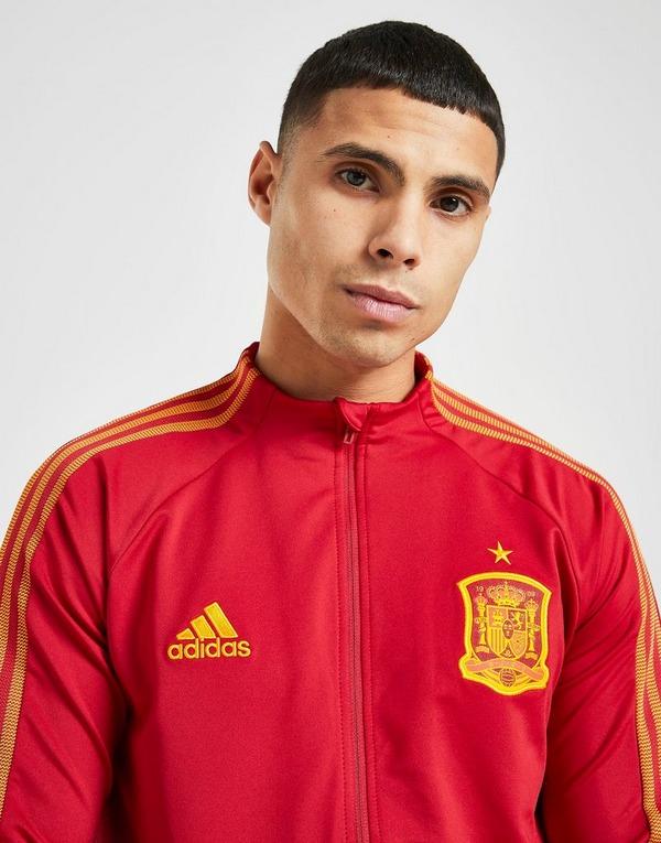Acheter Red adidas Veste Anthem Espagne Homme | JD Sports