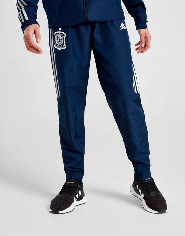 New Chelsea FC Adidas Blue Mens Woven Presentation Tracksuit