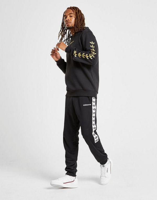 Sports Con Adidas CappuccioJd Qqr Felpa Originals Tape