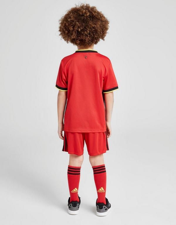Shoppa adidas Belgien 2020 Hemmaset Barn i en Röd färg   JD