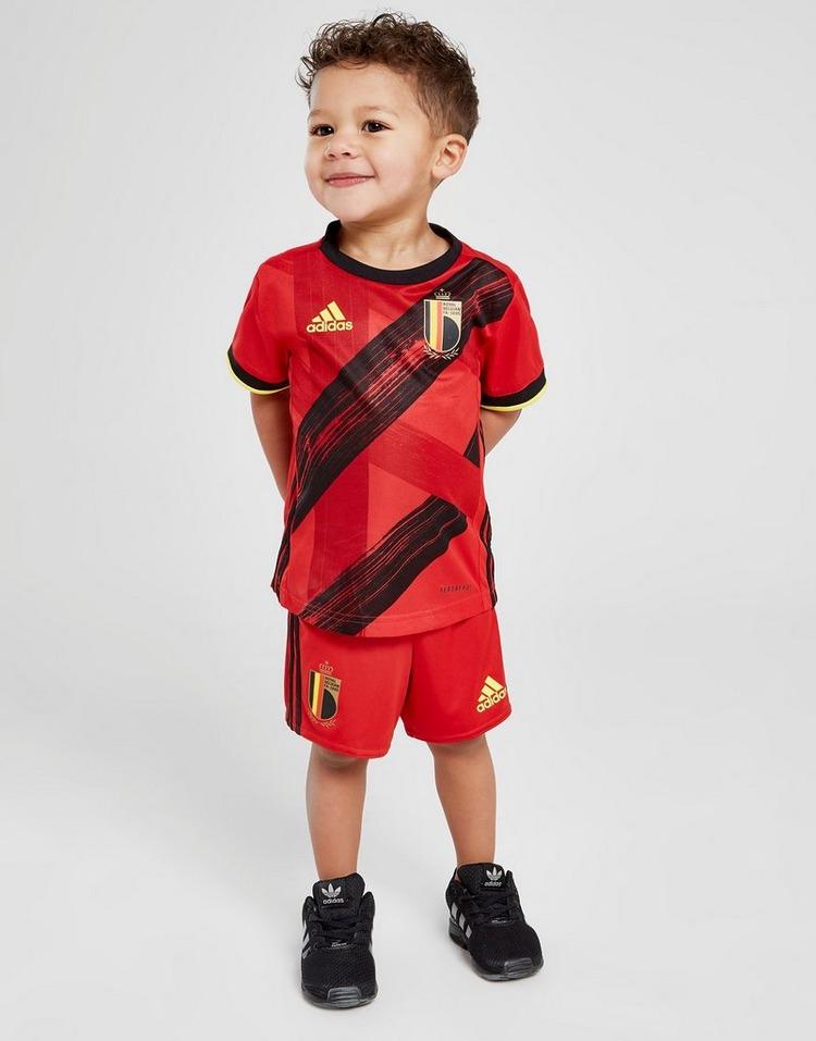 adidas conjunto selección de Bélgica 2020 1.ª equipación para bebé