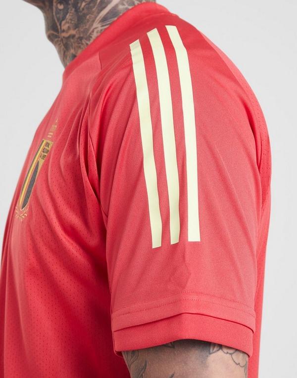 Acherter Rouge adidas Maillot d'entraînement Belgique Homme