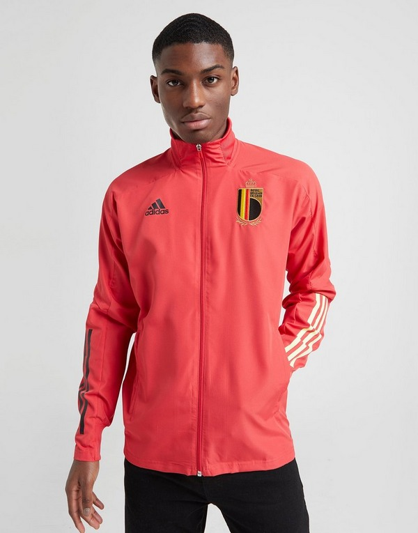 Adidas Men's Trousers adidas CITY RUN KNIT JACKET MEN Red