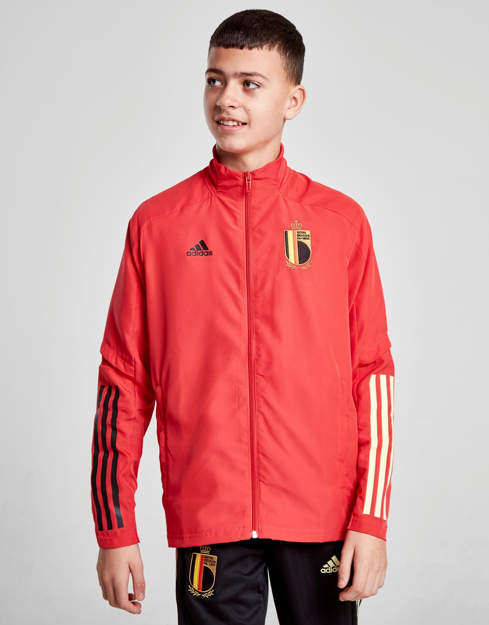 adidas Belgium Presentation Jacket Junior   JD Sports Sverige