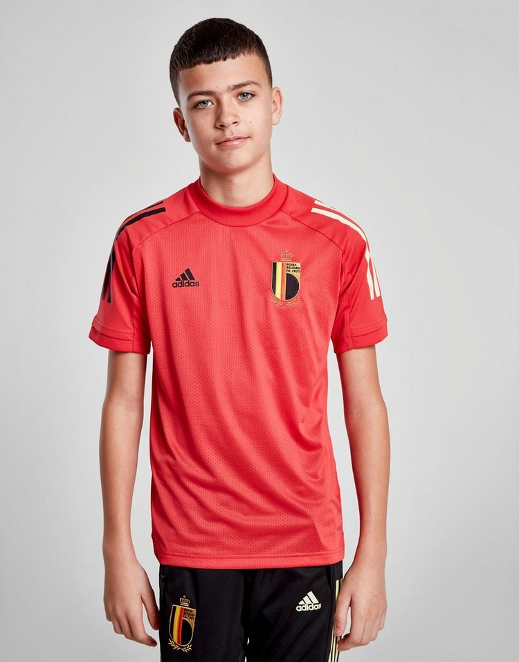 adidas Belgium Training Shirt Junior