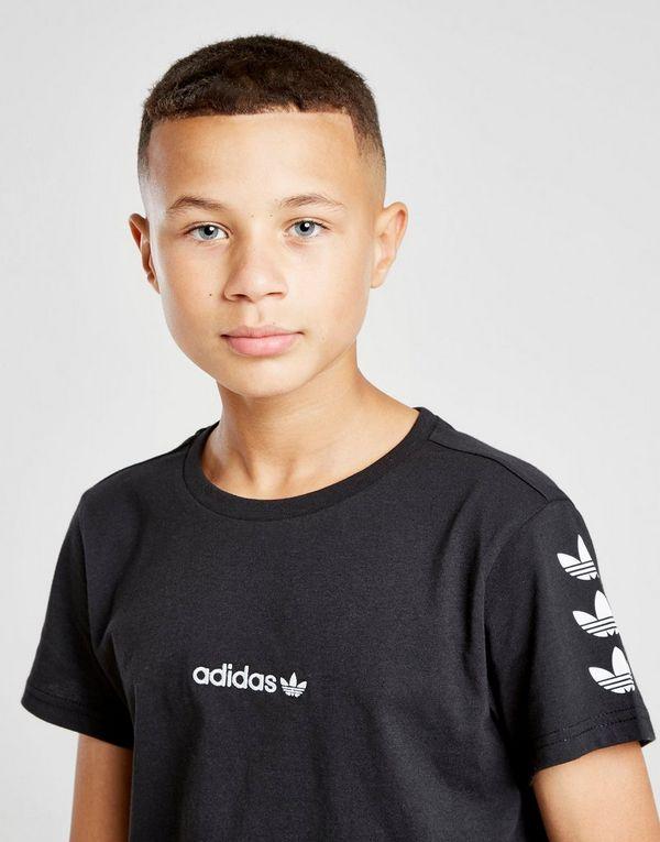 adidas Originals Repeat Trefoil T-Shirt Junior
