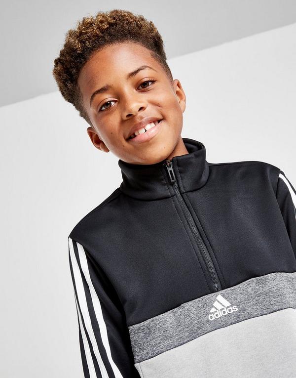 adidas 12 Zip Poly Fleece Trainingsanzug Kinder | JD Sports
