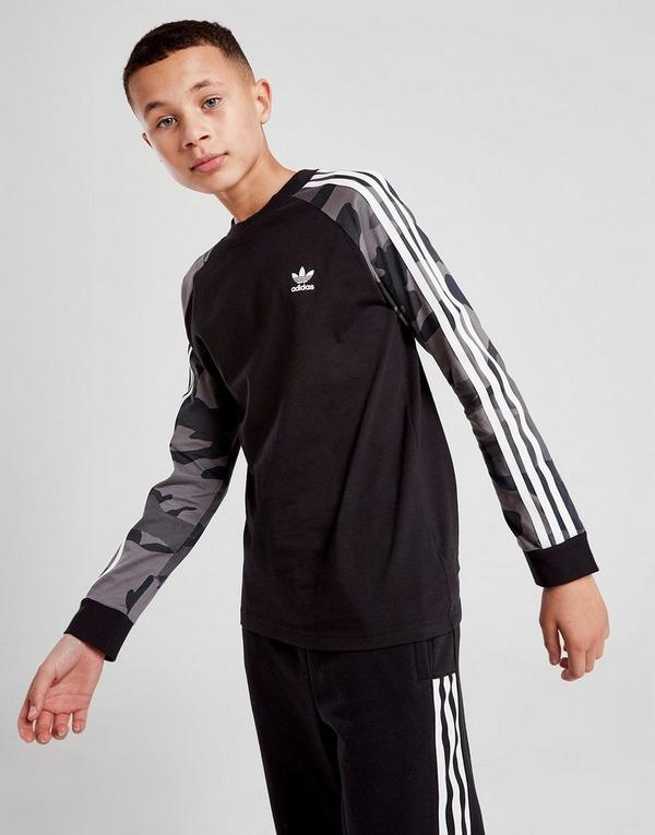 adidas Originals Camo Long Sleeve T Shirt