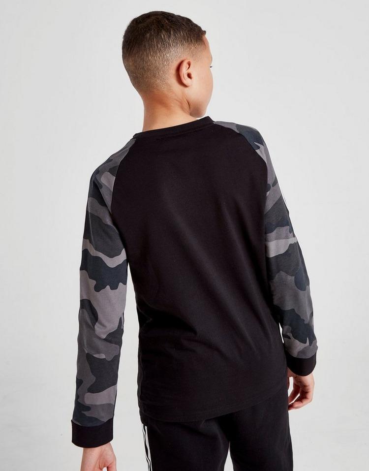 adidas Originals Spirit X Camo Long Sleeve T-Shirt Junior