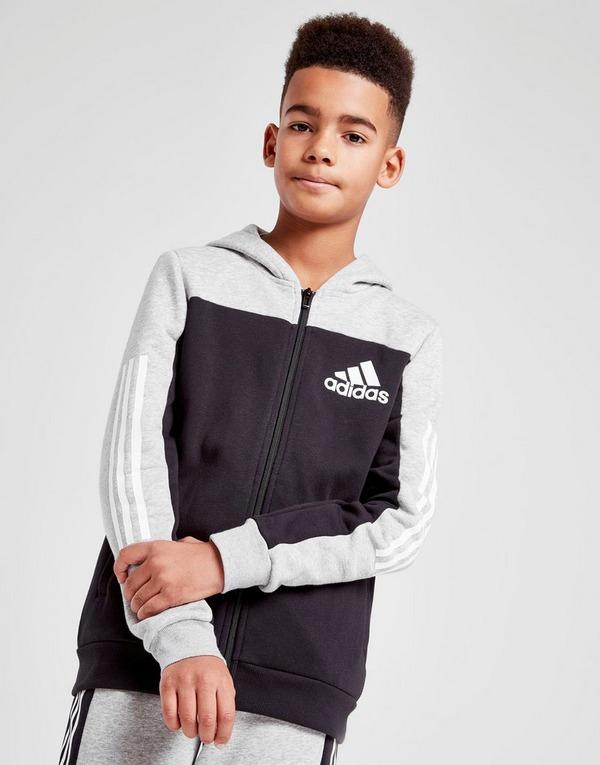 adidas Children's Essentials 3 stripes Hooded Jacket Kids