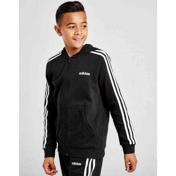 Acheter Black adidas Performance veste à capuche à 3 bandes