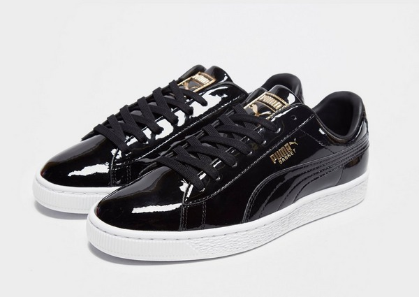 Puma Basket Classic Patent Junior
