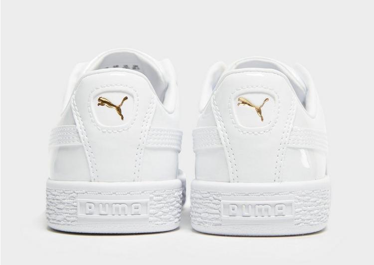Puma Basket Classic Patent Children