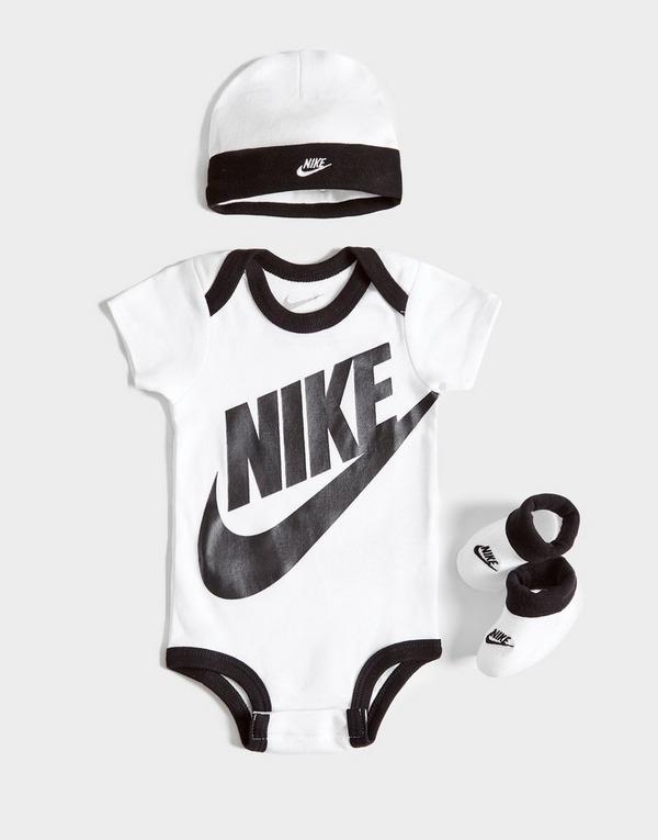Nike 3 Piece Futura Logo Set Infant
