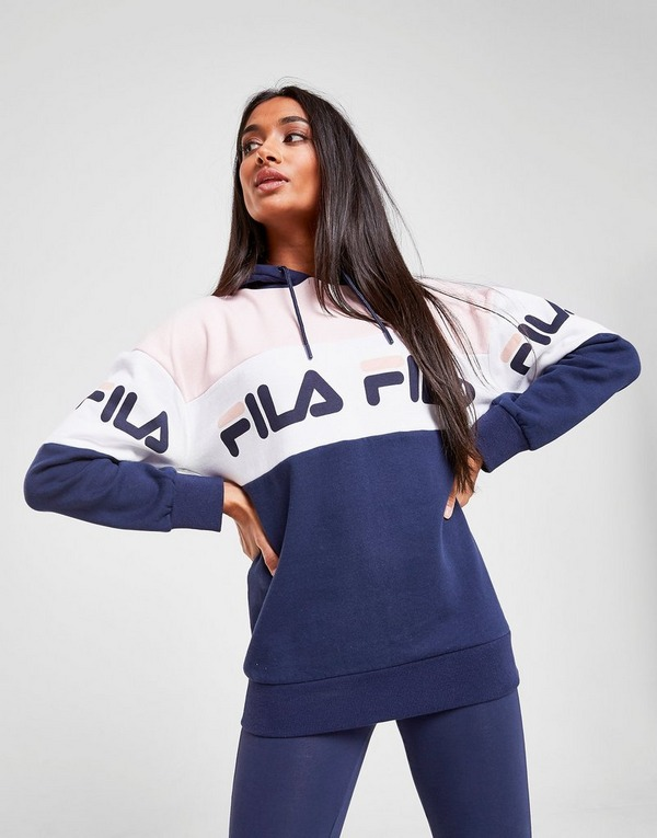 Fila Sweat à capuche Panel Logo Boyfriend Femme
