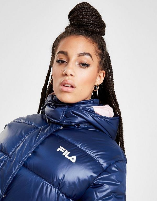 Acherter Bleu Fila Veste Logo Matelassée Femme | JD Sports