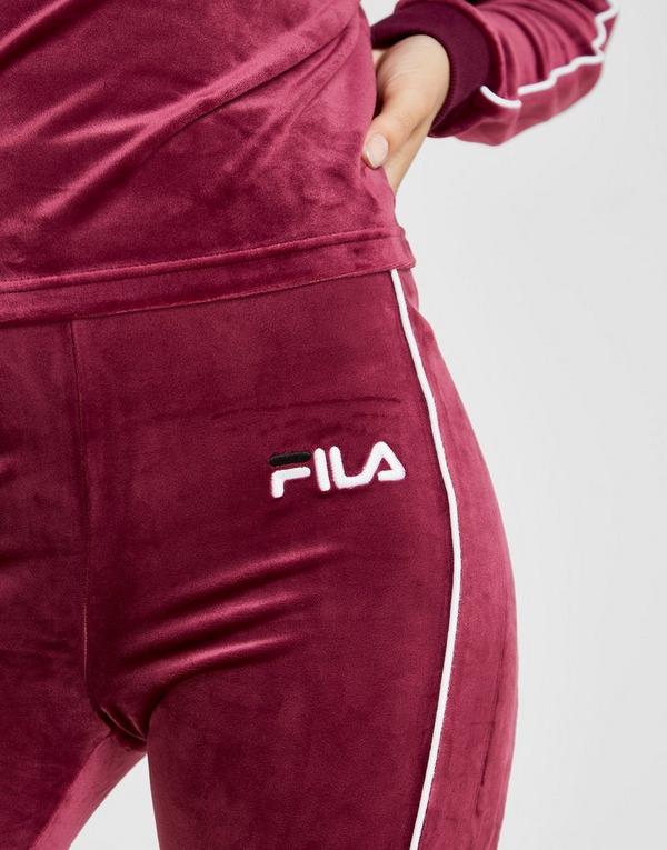 Fila Velour Logo Leggings