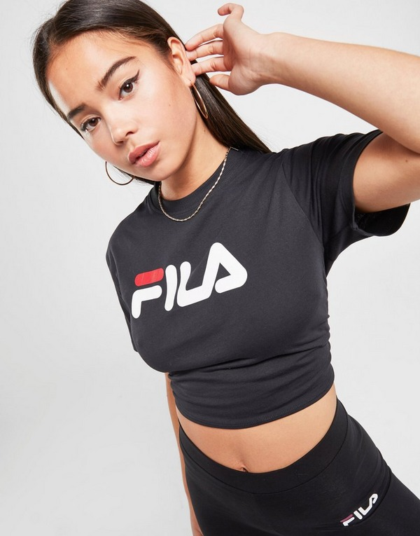 Fila Core Logo Crop T-Shirt