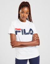 Acherter Rouge Fila T Shirt Core Logo Boyfriend Femme   JD