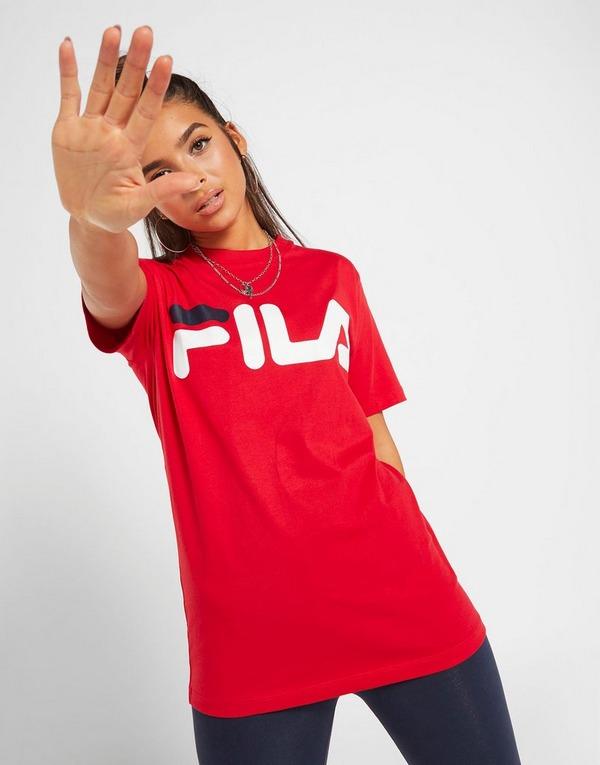 Fila Core Logo Boyfriend T-Shirt Dame