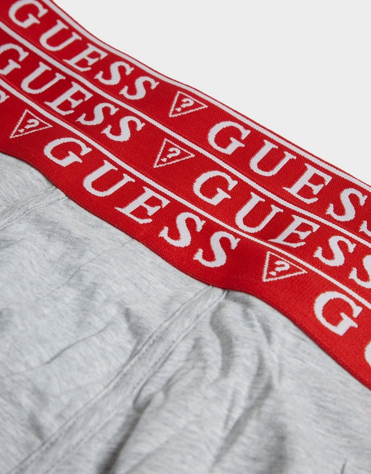 GUESS 3 Pack Contrast Waistband Boxer Shorts