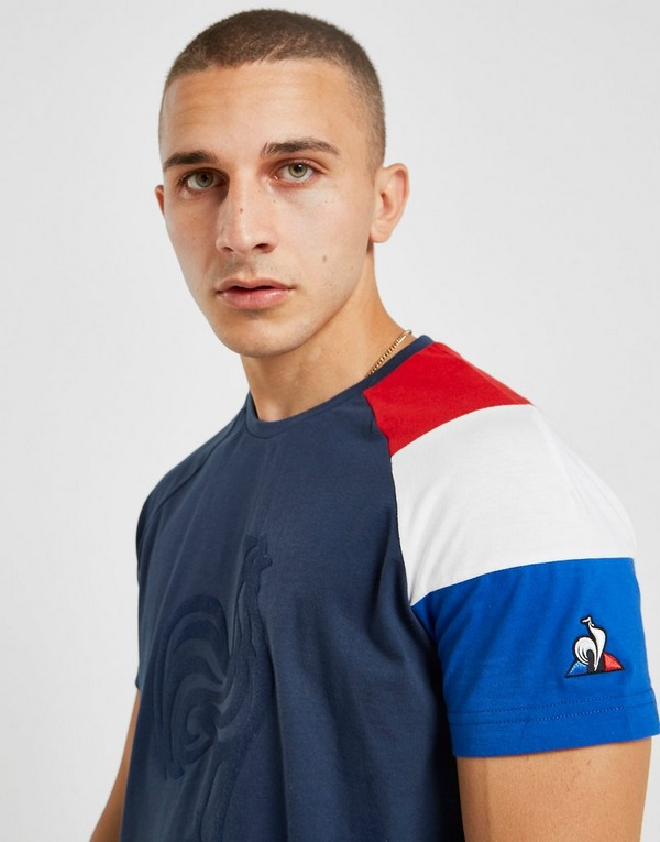 Le Coq Sportif France Fan Short Sleeve T-Shirt
