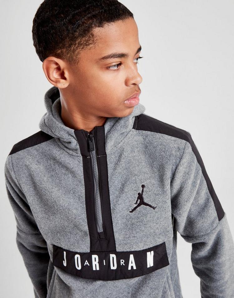 Jordan Air 1/2 Zip Overhead Hoodie Junior