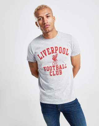 new concept 2f7e2 2a197 Official Team Liverpool FC Club T-Shirt | JD Sports