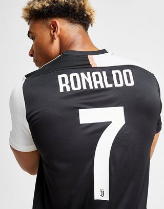 competitive price b4ddd 2aa05 adidas Juventus FC 2019/20 Ronaldo #7 Home Shirt | JD Sports