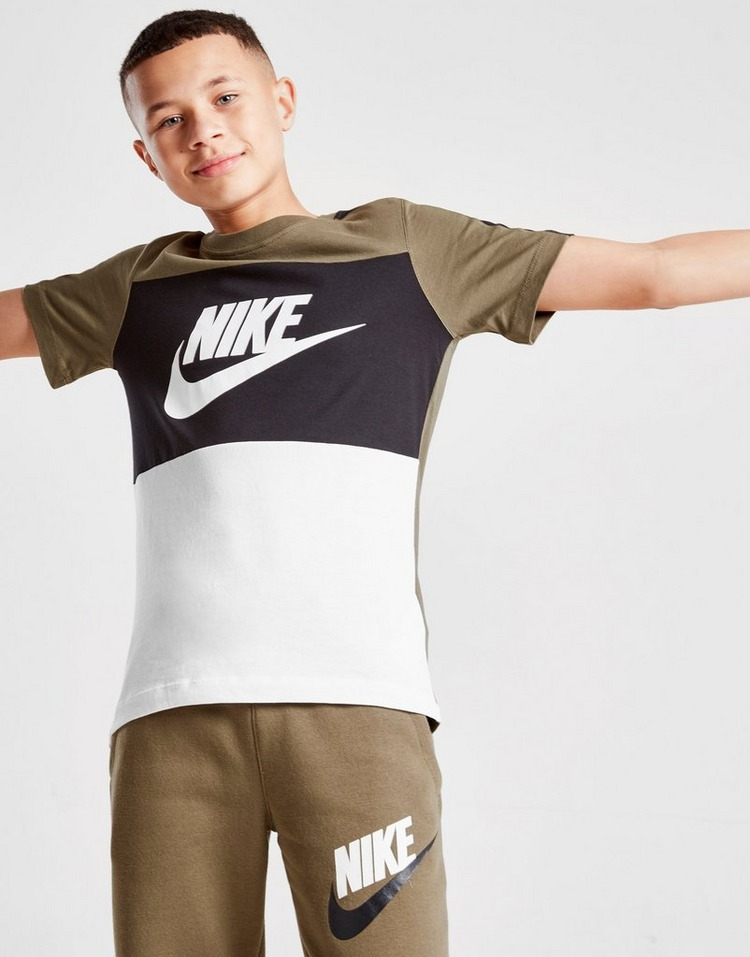 Nike Sportswear Colour Block T-Shirt Junior