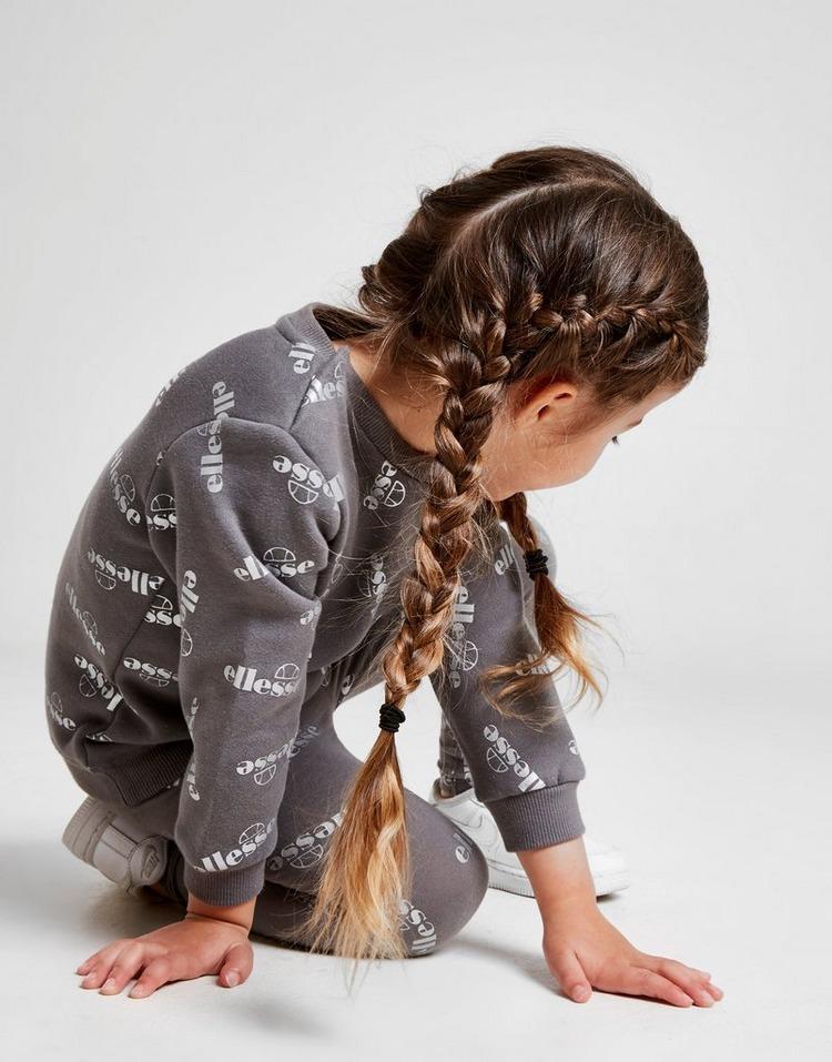 Ellesse Girls' Fiorella Crew Tracksuit Infant