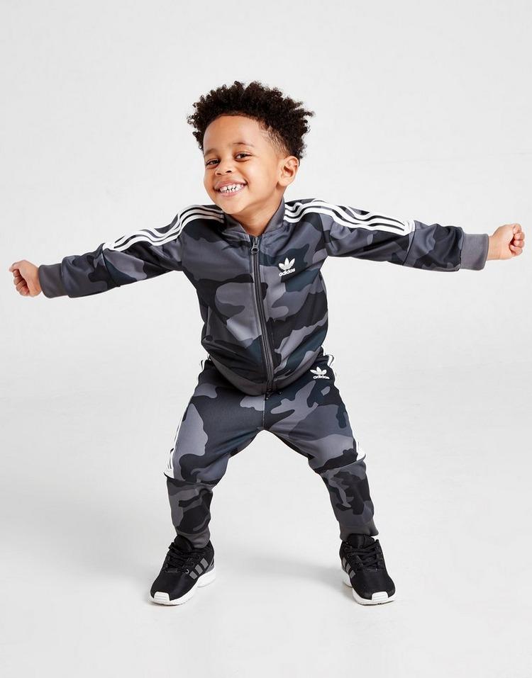 BJ8542 Navy Adidas Originals Infant Trefoil Tracksuit Baby