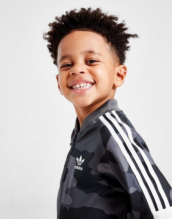 adidas Originals Camo All Over Print Superstar Tracksuit Infant