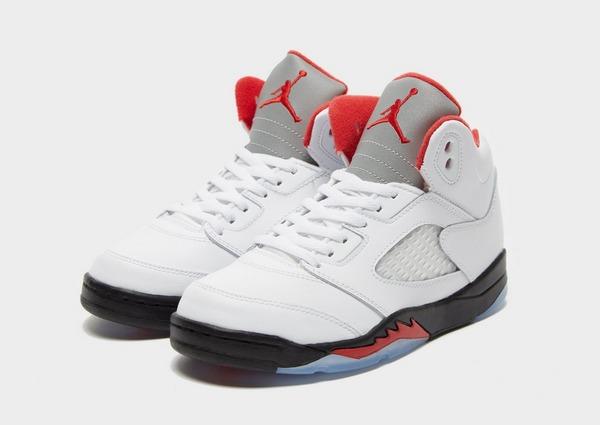 Acheter White Jordan Baskets Air 5 Retro Junior   JD Sports