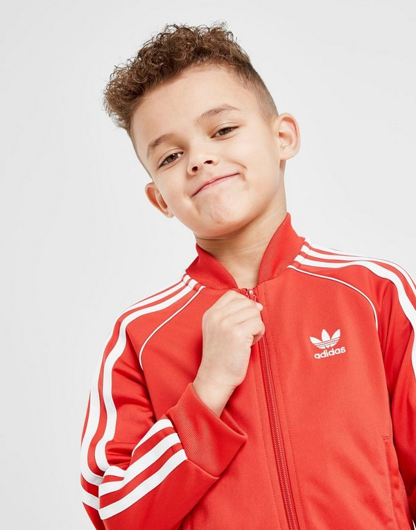 Acherter Rouge adidas Originals Superstar Survêtement Enfant