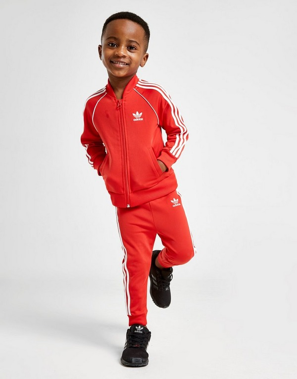 Acherter Rouge adidas Originals Survêtement Superstar Enfant