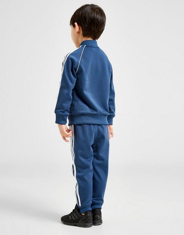 Køb adidas Originals Superstar Suit Småbørn i Blå | JD Sports