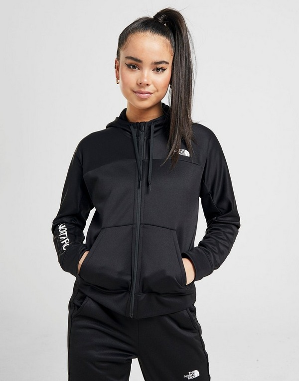 The North Face Train N Logo Full Zip Hoodie