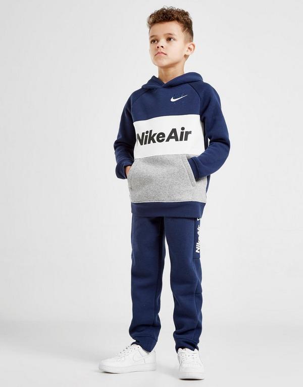 Nike Air Overhead Hooded Tracksuit Children