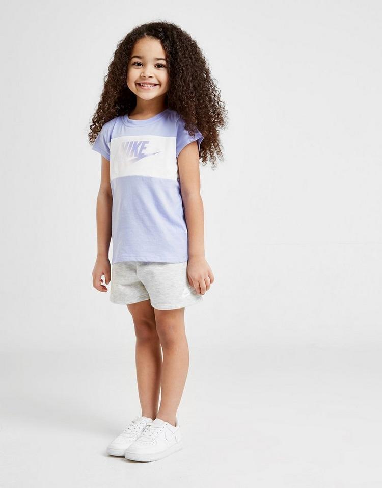 Nike Girls' Futura T-Shirt/Shorts Set Children