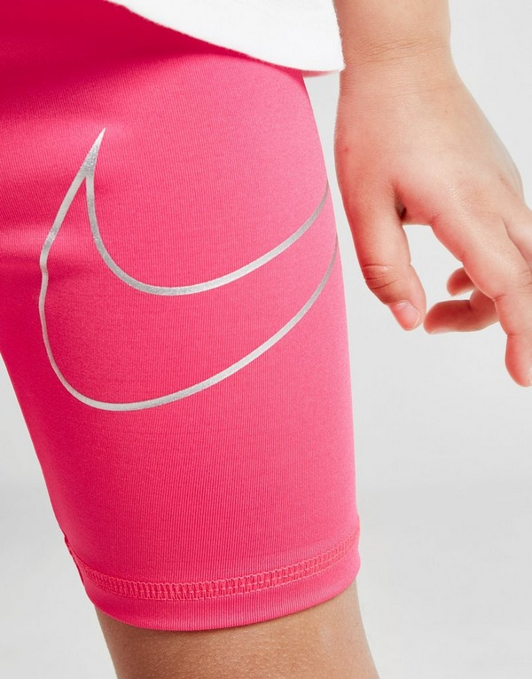 Nike Girls' Shine Cycle Shorts Children