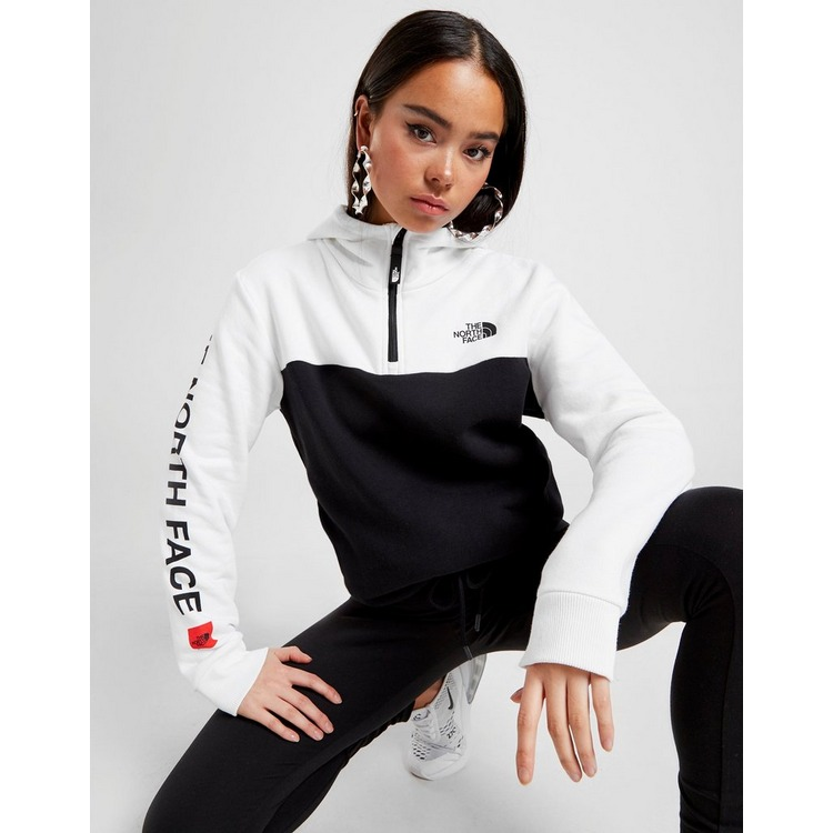 The North Face Airolo Logo Box 1/4 Zip Hoodie