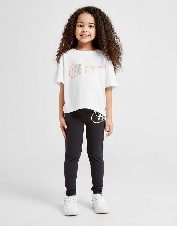 Nike Girls' Shine Crop T-Shirt Children