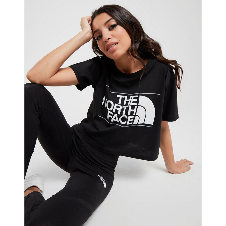 The North Face Reflective Logo Crop T-Shirt