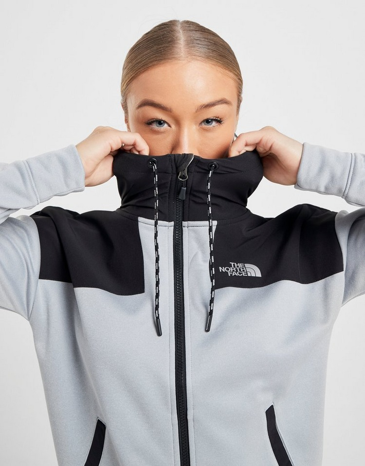 The North Face chaqueta con capucha Woven Panel Mittelegi