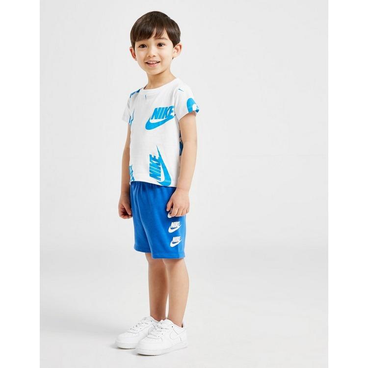 Nike conjunto camiseta/pantalón corto All Over Print para bebé