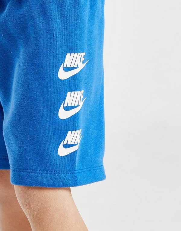 Nike All Over Print T-Shirt/Shorts Set Infant
