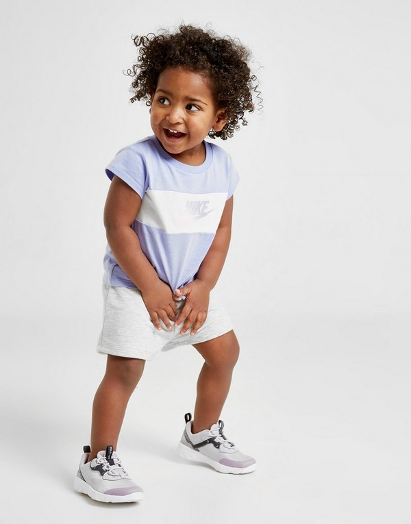 Nike Girls' Futura T-Shirt/Shorts Set Infant