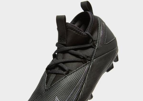 Nike Kinetic Black Phantom Vision Club FG Children