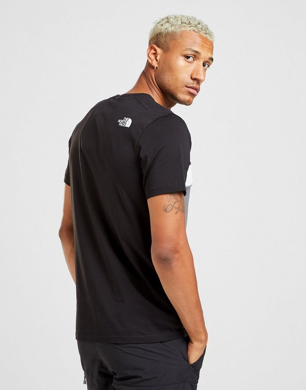 The North Face Tri Block T-Shirt Heren
